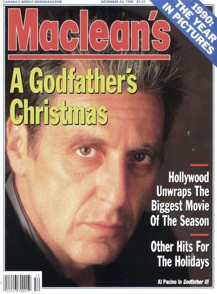 Issue: - December 1990   Maclean's