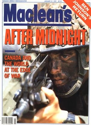Cover for the January 21 1991 issue