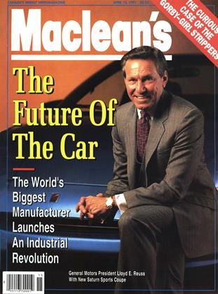 Cover for the April 15 1991 issue