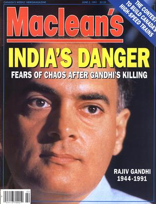 Cover for the June 3 1991 issue