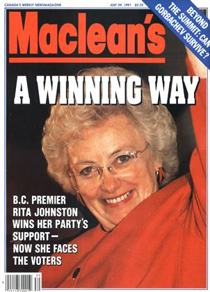 Cover for the July 29 1991 issue