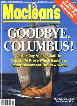 Cover for the August 5 1991 issue