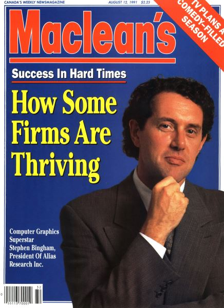 Issue: - August 1991   Maclean's