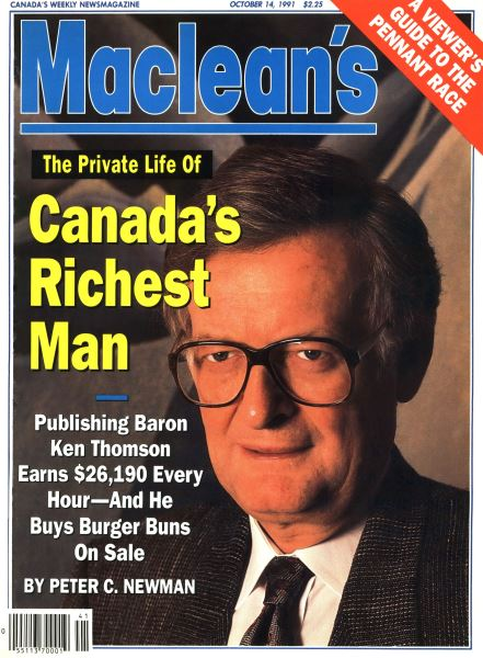Issue: - October 1991 | Maclean's