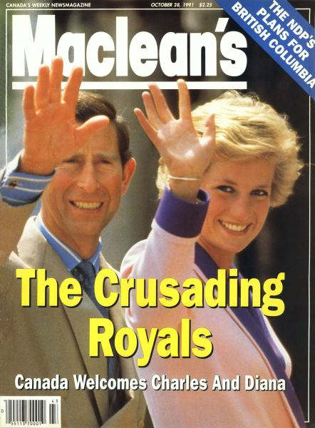 Issue: - October 1991   Maclean's