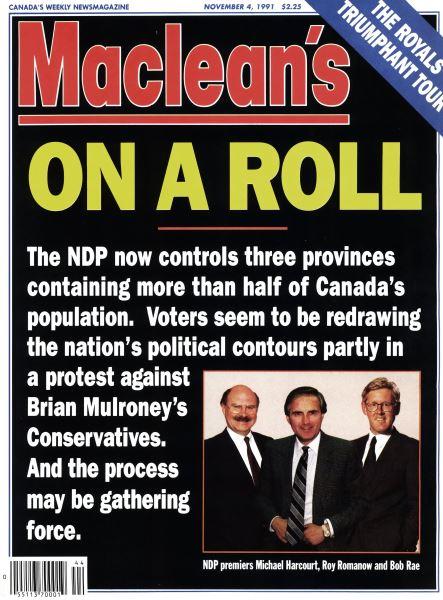 Issue: - November 1991 | Maclean's