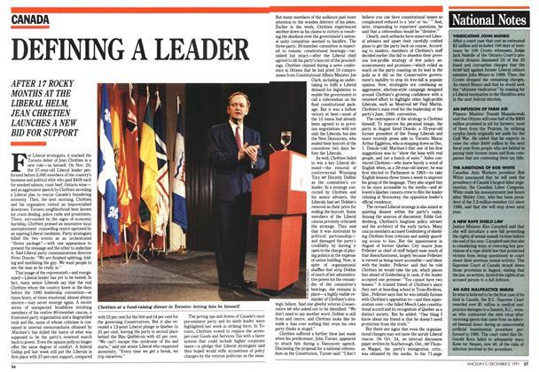 DEFINING A LEADER