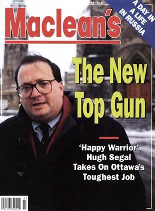 JANUARY 20, 1992 | Maclean's