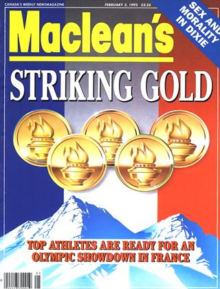 Cover for the February 3 1992 issue