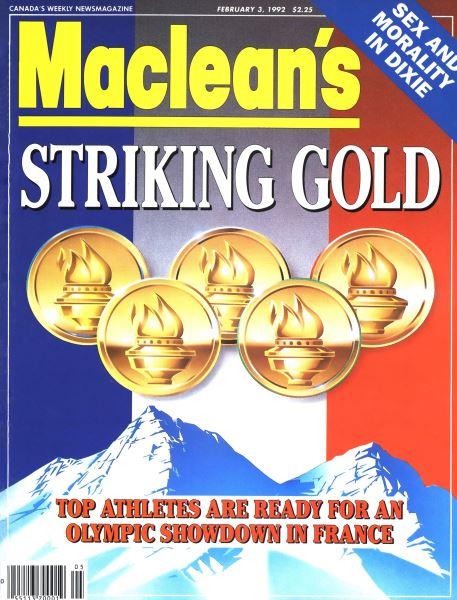 Issue: - February 1992   Maclean's