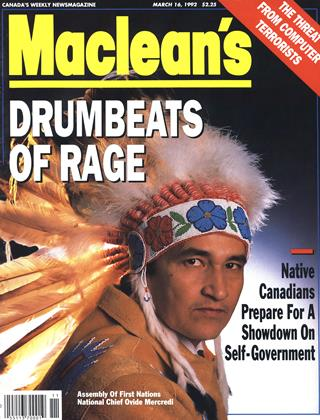 Cover for the March 16 1992 issue