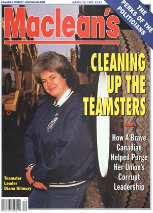 Cover for the March 23 1992 issue