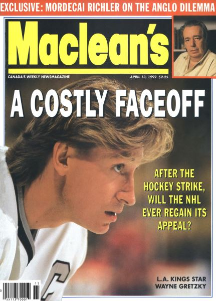 Issue: - April 1992 | Maclean's