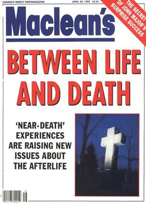 Cover for the April 20 1992 issue