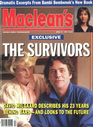 APRIL 27, 1992 | Maclean's