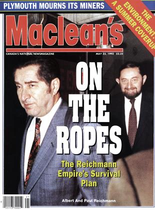 Cover for the May 25 1992 issue