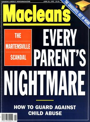Cover for the June 22 1992 issue