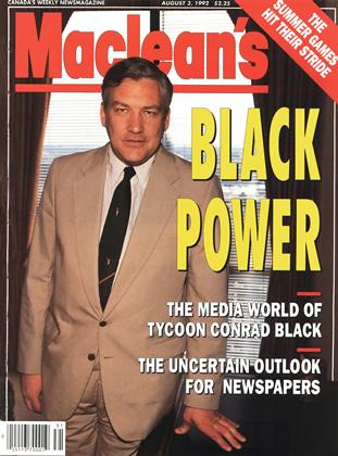 Cover for the August 3 1992 issue