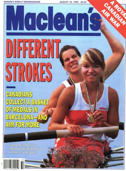 Issue: - August 1992   Maclean's