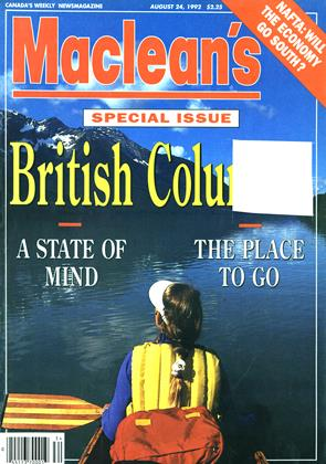 Cover for the August 24 1992 issue