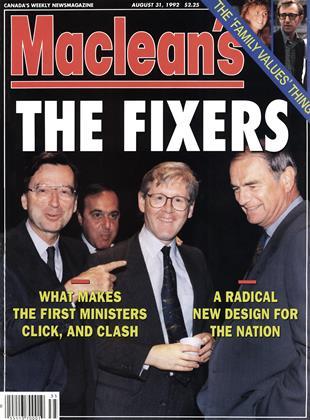 AUGUST 31, 1992 | Maclean's