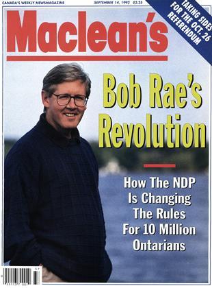 SEPTEMBER 14, 1992 | Maclean's