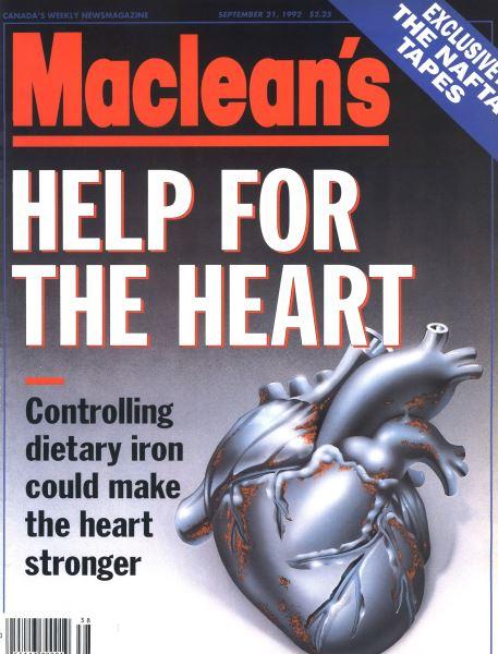 Issue: - September 1992 | Maclean's