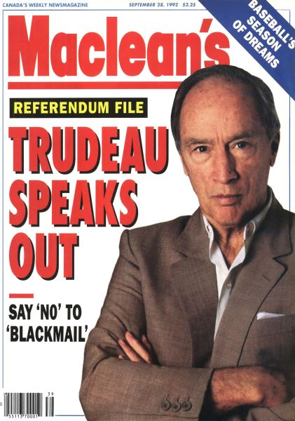 Issue: - September 1992 | Maclean's