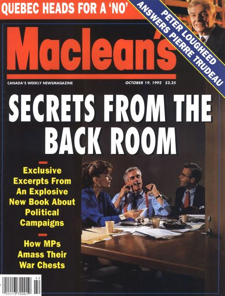 Issue: - October 1992 | Maclean's