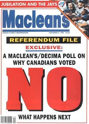 NOVEMBER 2, 1992 | Maclean's