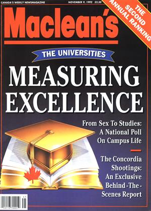NOVEMBER 9, 1992 | Maclean's