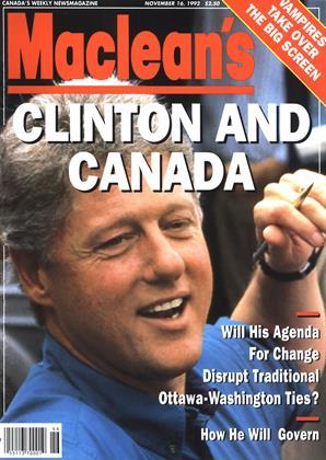 NOVEMBER 16, 1992 | Maclean's