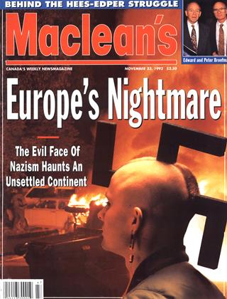Cover for the November 23 1992 issue