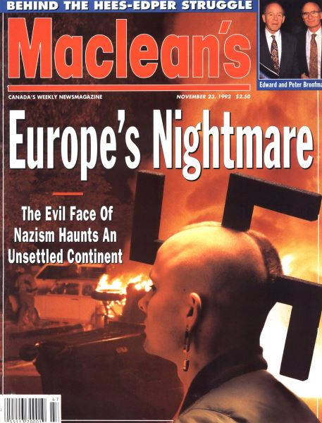 Issue: - November 1992 | Maclean's