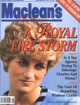 NOVEMBER 30, 1992 | Maclean's