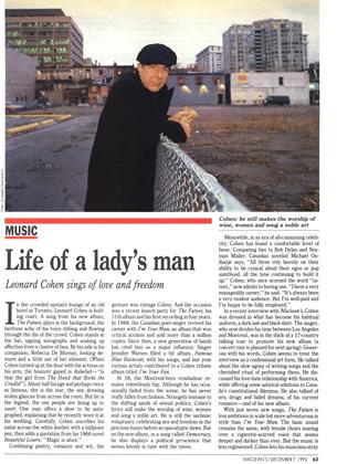 Life of a lady's man, Page: 63 - DECEMBER 7, 1992 | Maclean's
