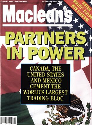 Cover for the December 14 1992 issue