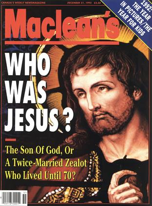 Cover for the December 21 1992 issue