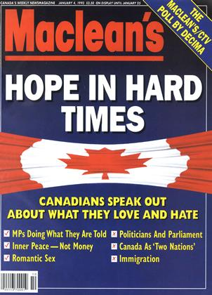 Cover for the January 4 1993 issue