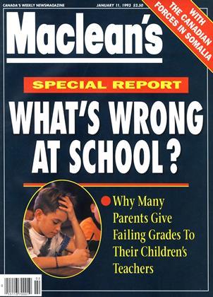 JANUARY 11, 1993 | Maclean's