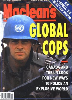 JANUARY 18, 1993 | Maclean's