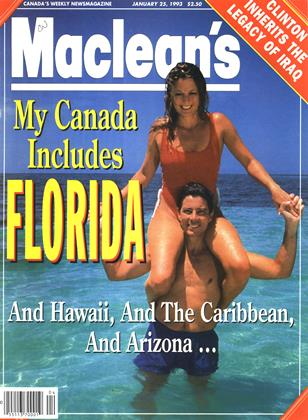 Cover for the January 25 1993 issue