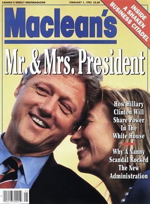 FEBRUARY 1, 1993 | Maclean's