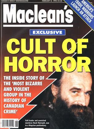FEBRUARY 8, 1993 | Maclean's