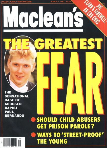 Issue: - March 1993 | Maclean's