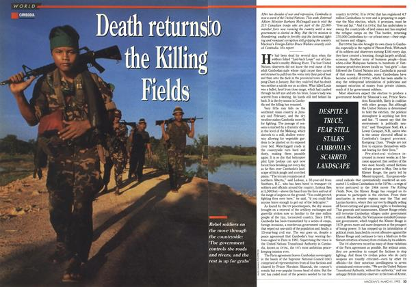 Death returns to the Killing Fields