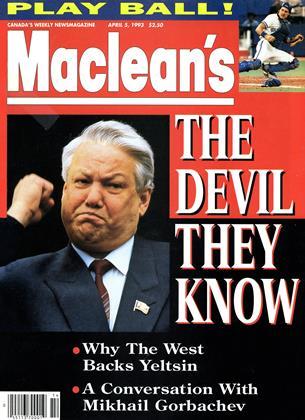 APRIL 5, 1993 | Maclean's