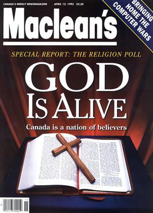 APRIL 12, 1993 | Maclean's