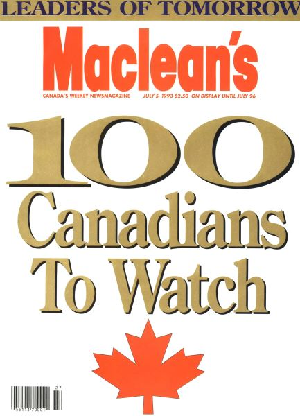 Issue: - July 1993 | Maclean's