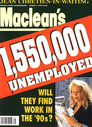Cover for the August 2 1993 issue